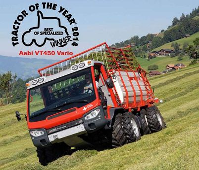 Tractor of the year 2014